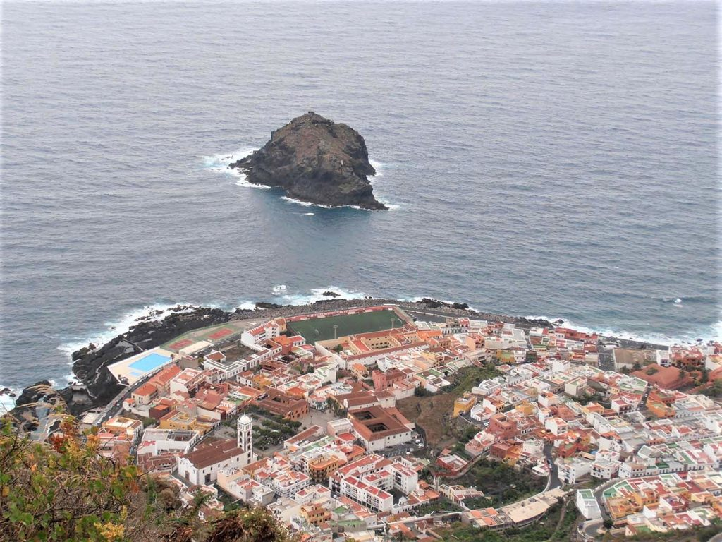Tenerife tengerparti falu