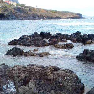 programok - Garachico természetes strand