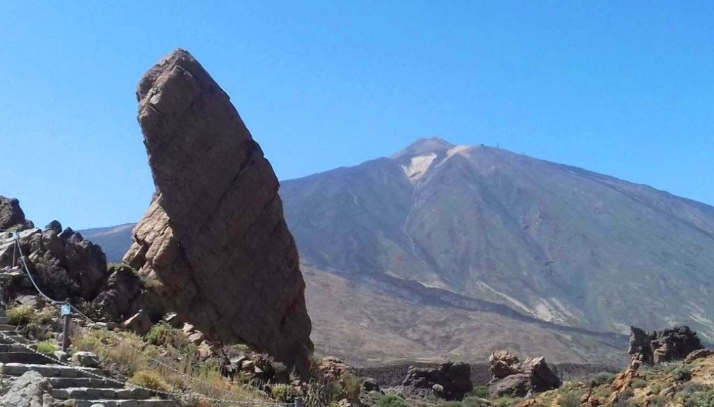 Teide vulkán tájkép